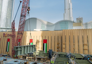 Mammoet uses LR1750 crane to erect new Dubai Mall extension bridge