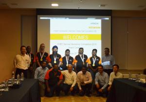 Al Fairuz Trading & Contracting Company wins HMEC service mechanic competition 2018