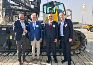 Aertssen Machinery Services invests in Demag lattice boom crawler cranes