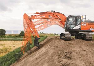 Hitachi to showcase the ZX210X-6 ICT hydraulic excavator with machine control at bauma 2019