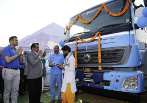 Daimler delivers 120 BharatBenz trucks to CJ Darcl Logistics in India