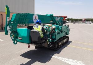 Pictures: Johnson Arabia adds Maeda spider cranes to its fleet