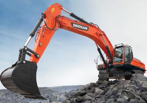 Doosan Infracore wins contract to supply 10 large 50-ton excavators to Saudi Arabia