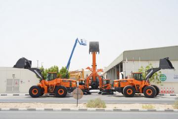 German Gulf Enterprises expands rental offering with Doosan excavators and wheel loaders