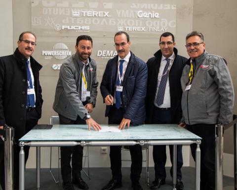 ETS SIAD Automobiles orders nine Terex rough terrain cranes at bauma 2019