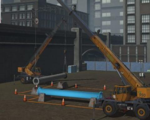 CM Labs launches mobile crane simulator training pack