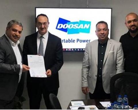 Genserv  appointed authorised dealer of Doosan generators and lighting towers in Oman