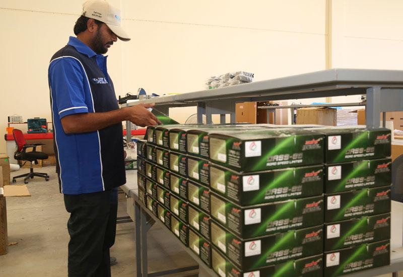 HKA's Dubai factory has a maximum production capacity of 220 speed limiters per day.
