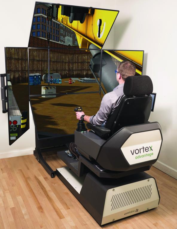 Training, Simulation, CM Labs, Cranes, Earthmoving equipment