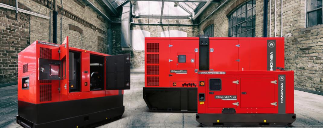 Generator, Himoinsa, Yanmar, FPT, Scania, Noise