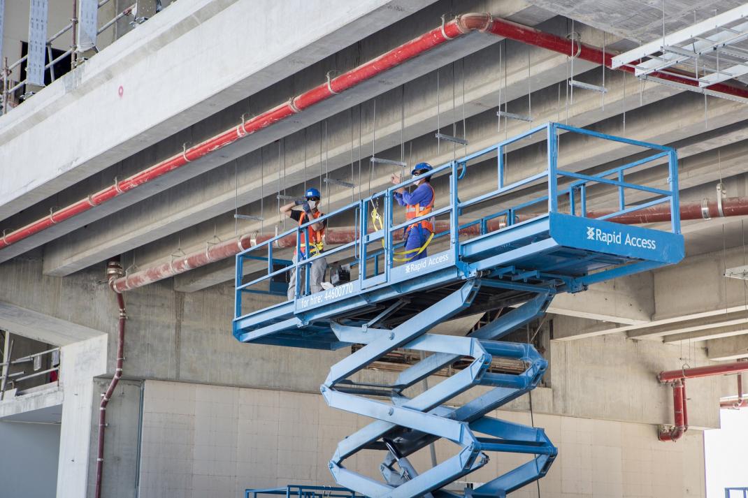 Aerial work platforms, Mobile elevating work platforms, Rapid access, Safety, Training, Rental market