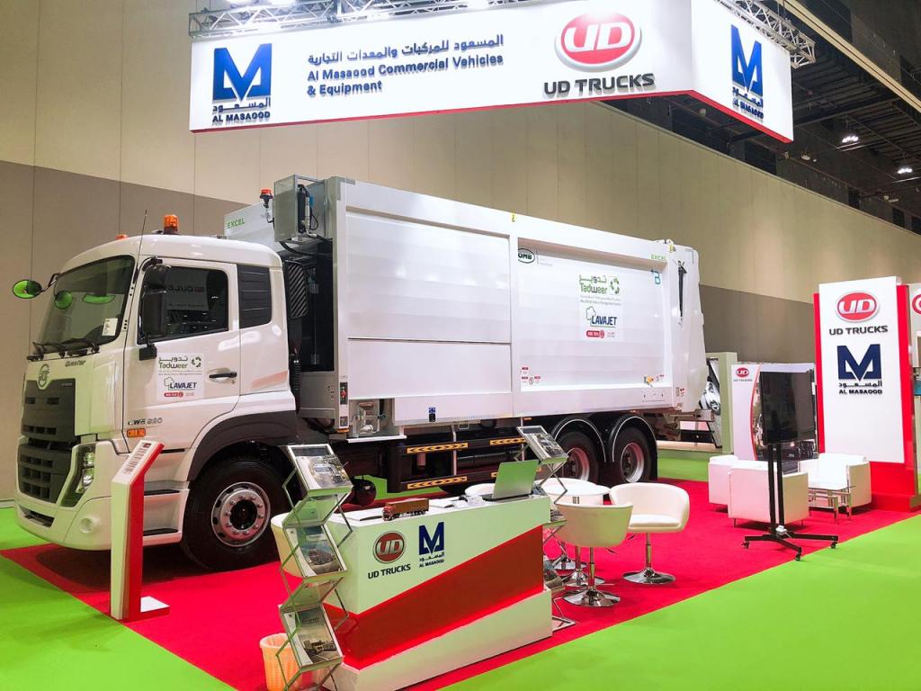 UD Truck, Waste management, Al Masaood Commercial Vehicles & Equipment, Abu dhabi