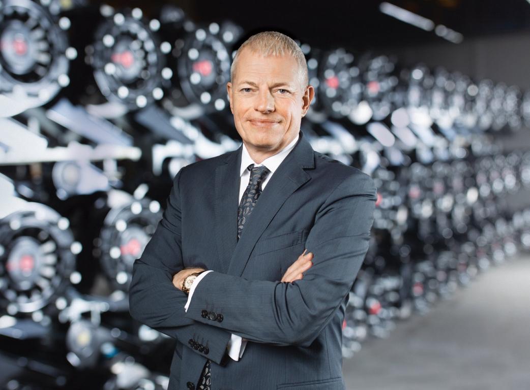 Detlef Borghardt, CEO, SAF-Holland.