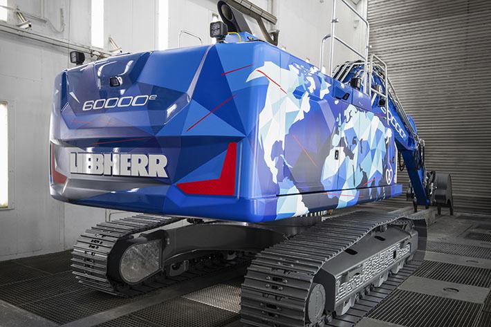 Liebherr, Crawler excavator, Bauma, Colmar, Jean Linnhoff