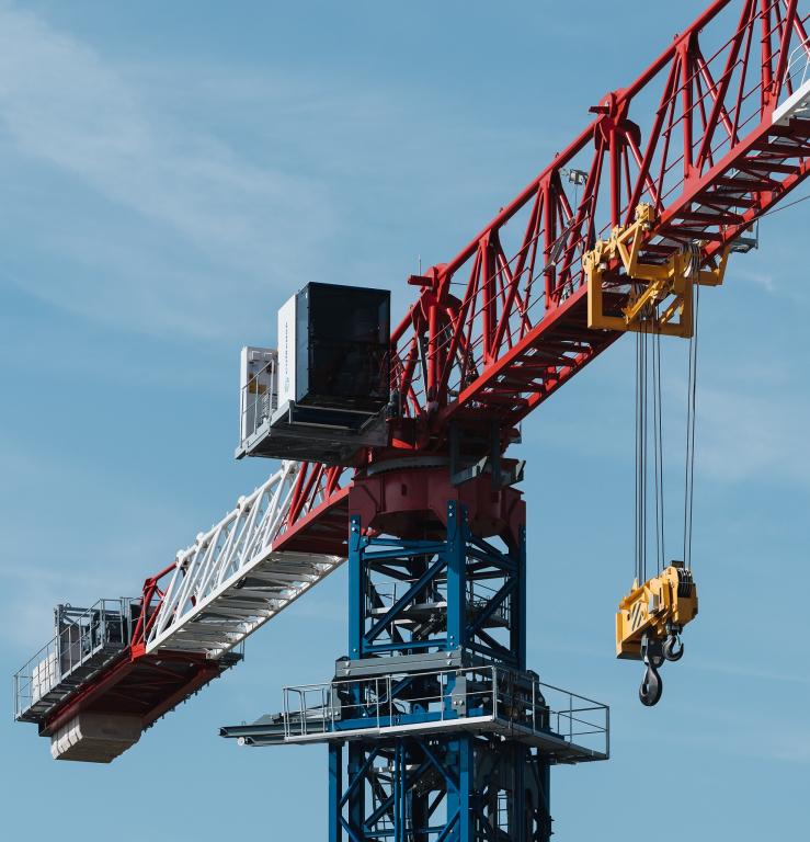 Comansa, Bauma 2019, Germany, Tower cranes, Flat-top crane