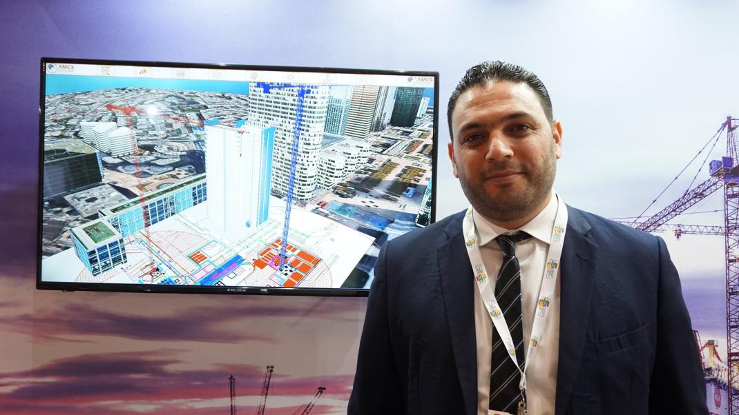 Abdelrahman Saafin, area sales manager, A and Z technologies.