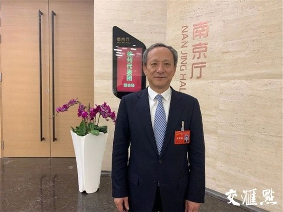 Wang Min, chairman of XCMG Group.